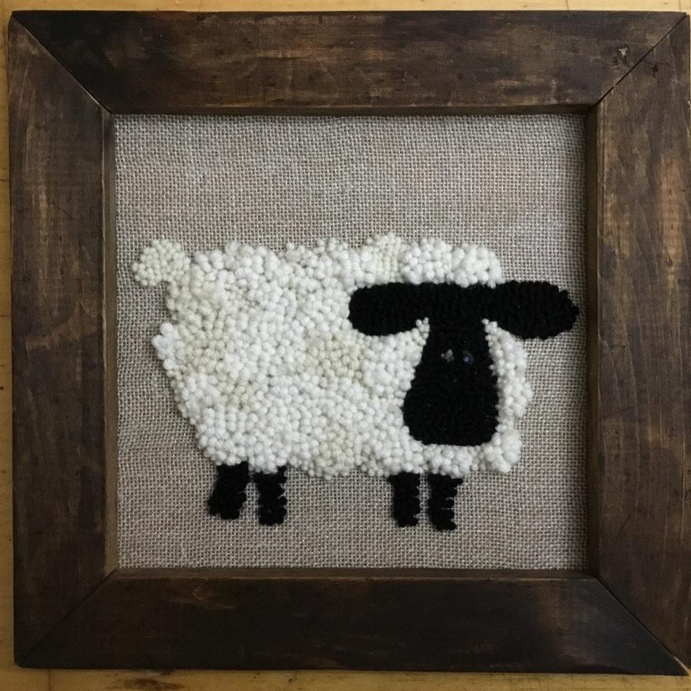 Sheep - PUNCH & GO Wall Hanging Kit