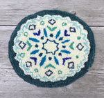 Snowflake Punched Rug