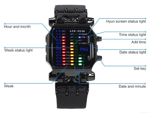 Waterproof Military Watch