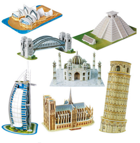 3d puzzles for adults