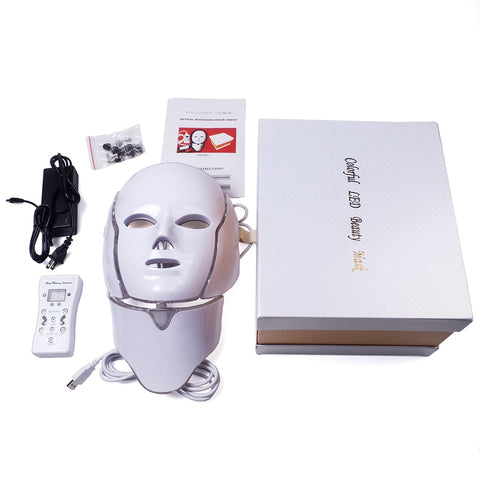 acne light therapy led mask