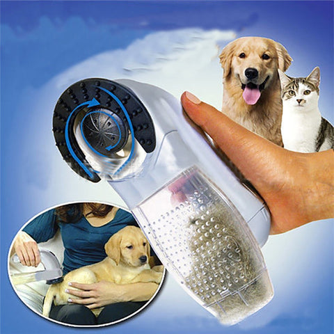 Pet Hair Brush Vacuum