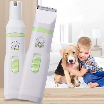 2 in 1 Pet Grooming Clippers