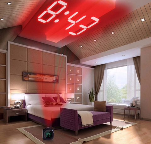 best projection alarm clock