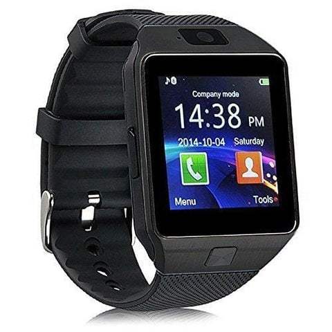 Matte Black Bluetooth Smart Watch