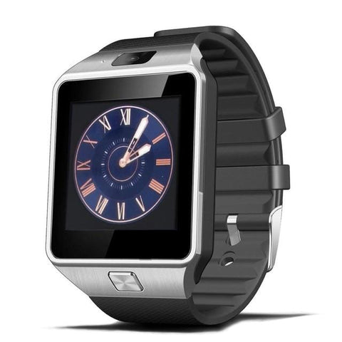 Silver Bluetooth Touchscreen Smart Watch