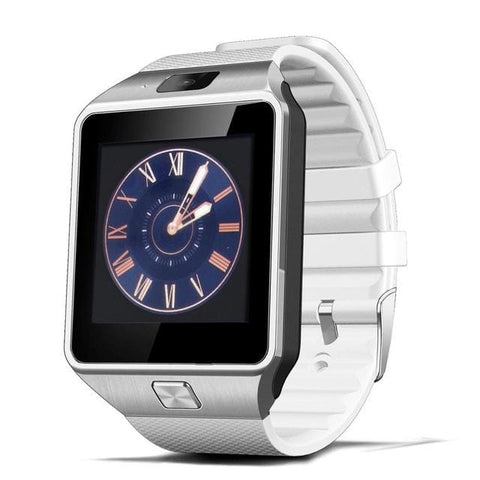 White Touchscreen Smart Watch