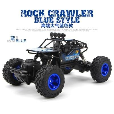 Blue Remote Control Monster Truck