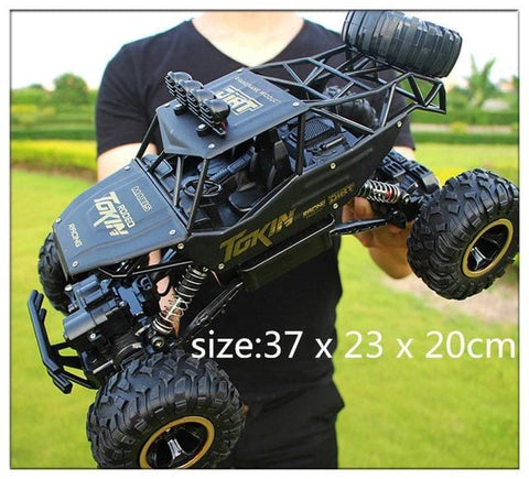 Black Remote Control Buggy