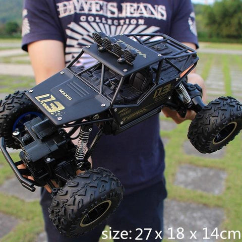 Image of Black Monster Truck RC