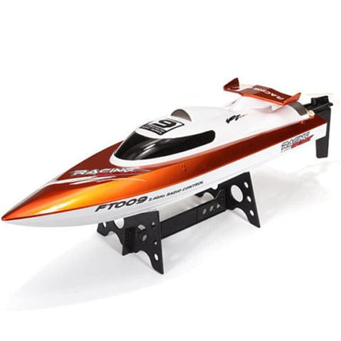 Image of orange rc boats for sale