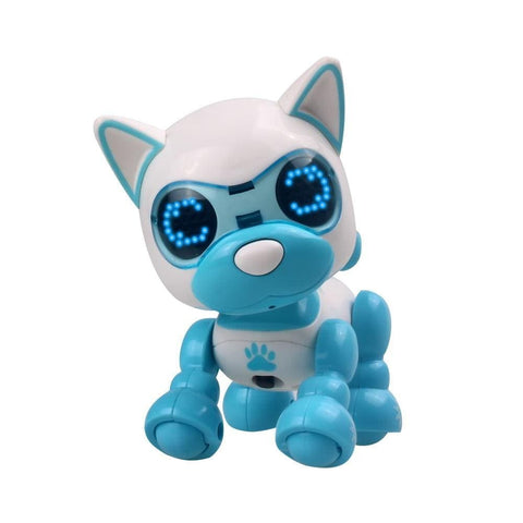Smart Robot Dog with LED Eyes Robot Puppy Robot Dog Toy