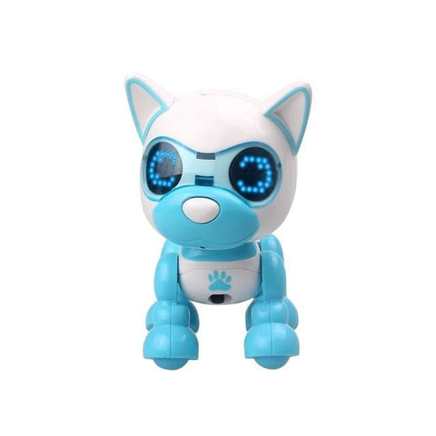 Smart LED Robot Dog in Blue