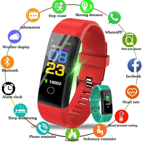 Image of Sport Watch Fitness Tracker with Activity Tracker
