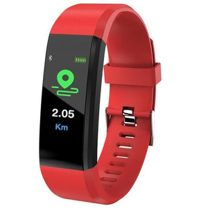 Red Sport Watch Fitness Tracker with Activity Tracker