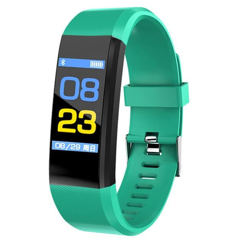 Image of Green Sport Watch Fitness Tracker with Activity Tracker