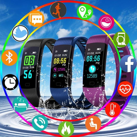 Image of Sports Mode Fitness Watch with Activity Tracker