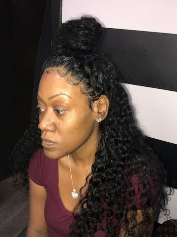 360 Lace Frontal Install