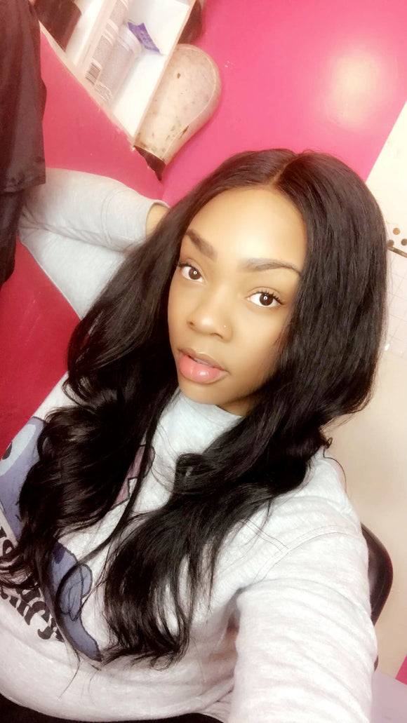 Custom Lace Frontal & 360 Lace Wig Services: Hair Included - Instant Beauty Hair
