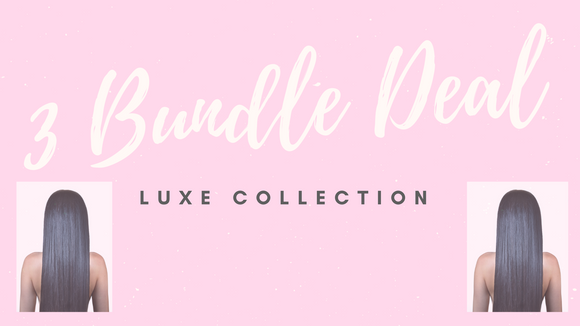 3 Bundle Deal: Luxe Collection - Instant Beauty Hair