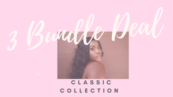 3 Bundle Deal: Classic Collection - Instant Beauty Hair
