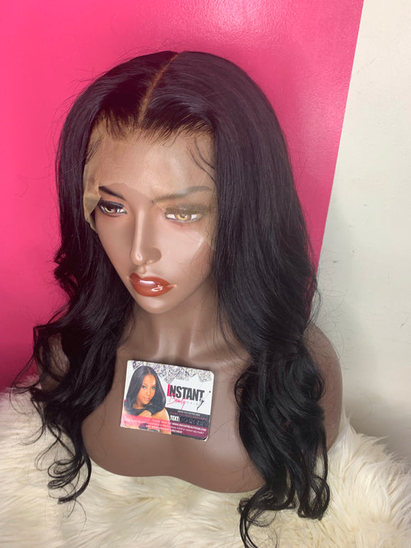 "Crystal Unit: 22"" Full Lace Body Wave Wig - Instant Beauty Hair"