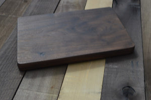 Solid Walnut Hand-Carved Cutting Board