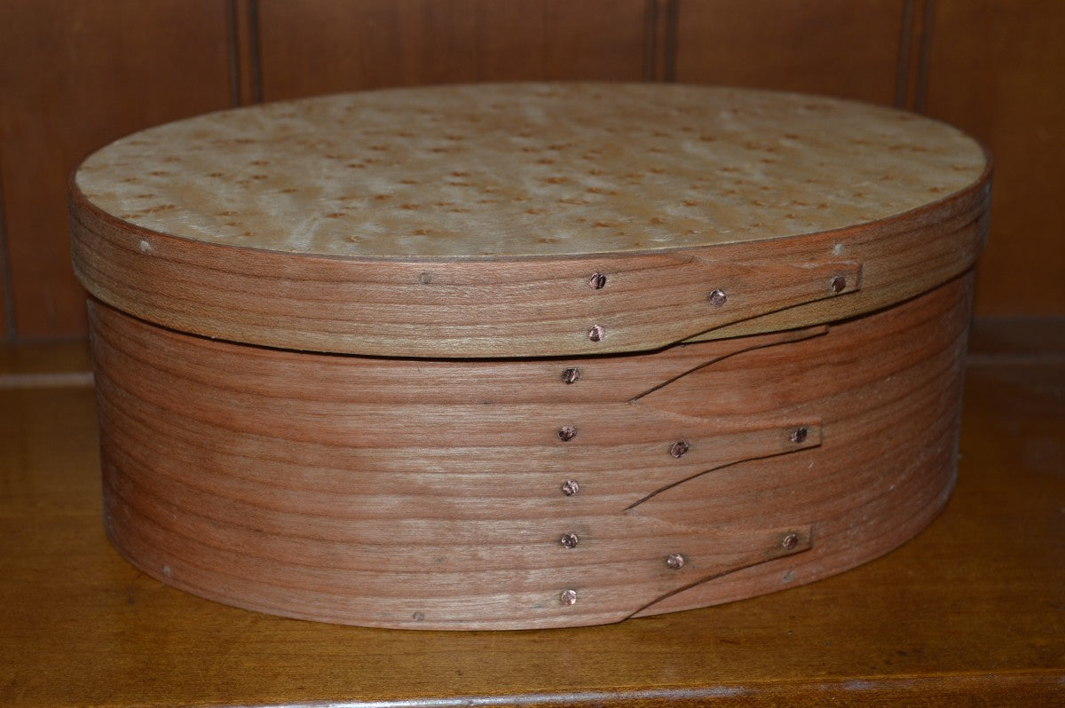 Shaker Oval Boxes - Nesting Set of Five