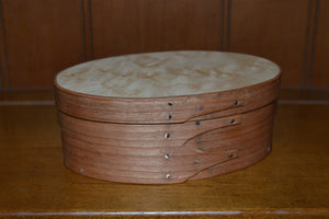 Shaker Oval Boxes - Nesting Set of Six