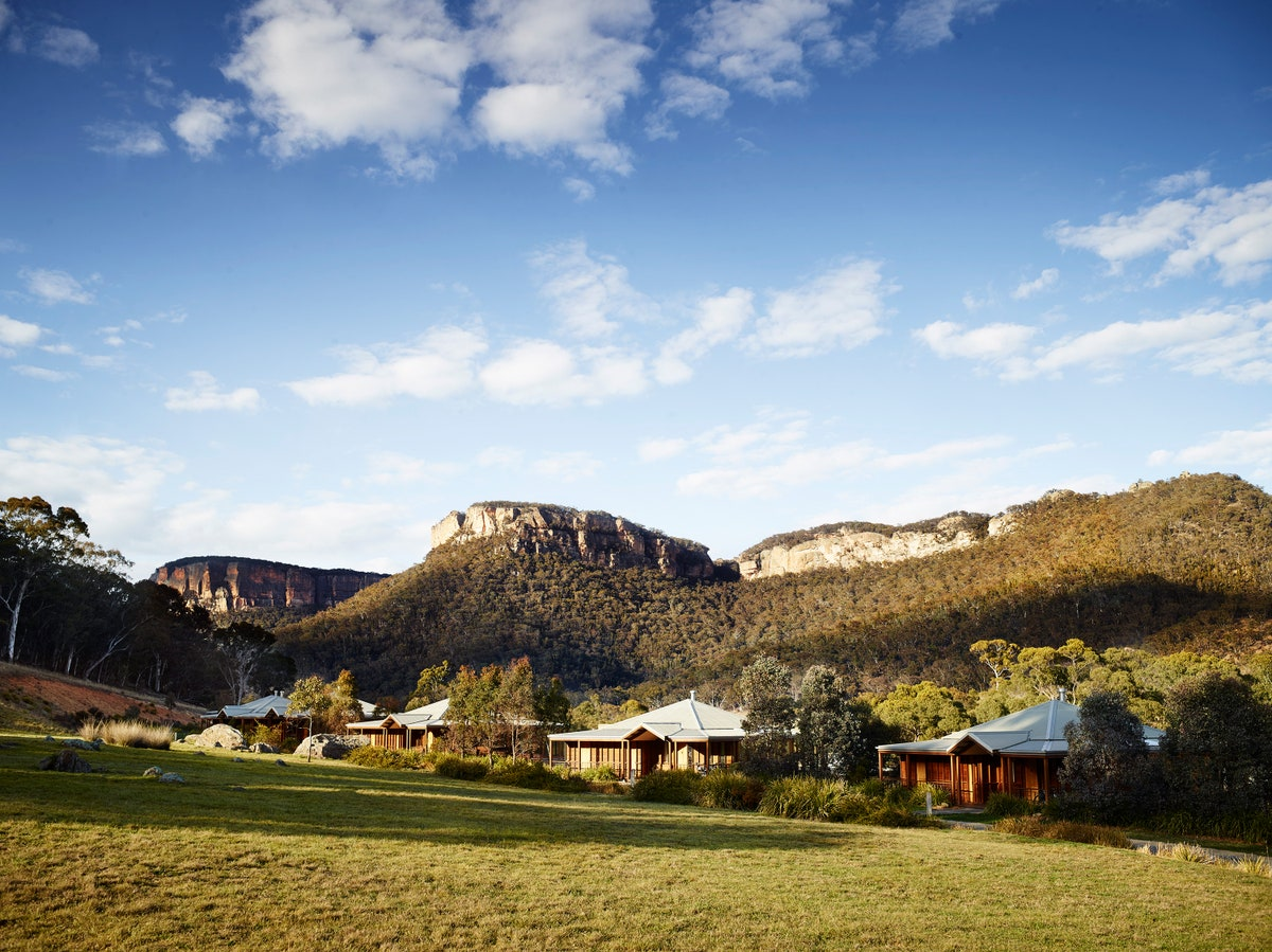 Emirates one and only Wolgan Valley in New South Wales surrounded by greater blue mountains image credit oneandonlyresorts.com