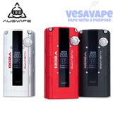 Authentic Augvape V200W TC Variable Wattage Box Mod - 3 Colors