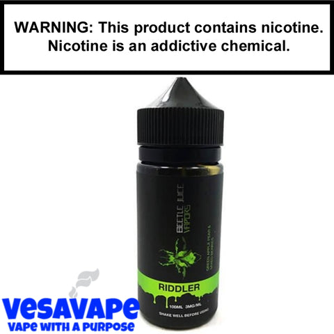 BeetleJuice Vapors - Riddler - 100MG Bottle