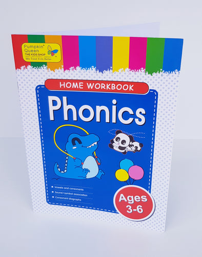 Phonics Workbook - Cleva Poppy