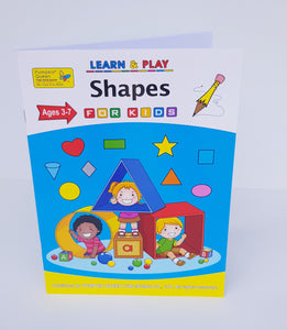 Shapes Workbook - Cleva Poppy