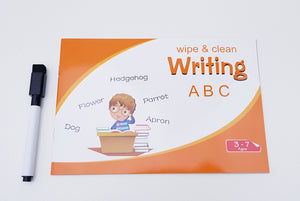 Wipe and Clean Writing Book - Cleva Poppy