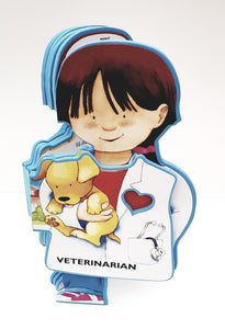 Veterinarian Career Soft Book - Cleva Poppy