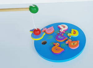 "Wooden ""Fishing"" Game - Cleva Poppy"