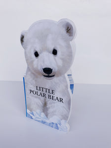 Polar Bear Chunky Book - Cleva Poppy