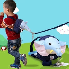 Child Safety Harness Elephant Backpack - Cleva Poppy