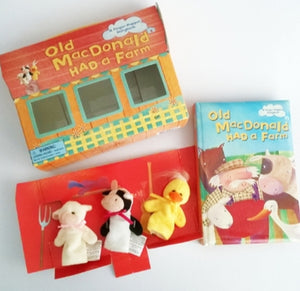Finger Puppet Story Books Limited Edition - Cleva Poppy
