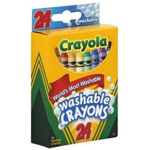Crayola Washable Crayons - Cleva Poppy