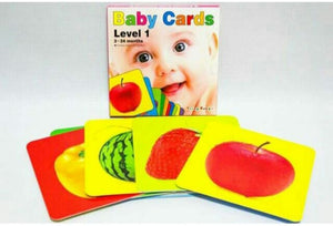 Baby Flash Cards Level 1 - Cleva Poppy
