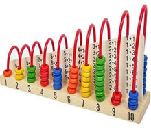 Calculating Abacus Shelf - Cleva Poppy