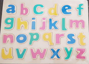 Wooden Alphabets