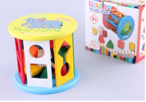 Wooden Shape Sorter Wheel