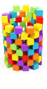 100 Pieces - Early Childhood Development Building Blocks
