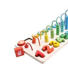 Multifunction Abacus Counting Shelf - Cleva Poppy