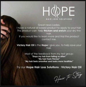 Anti Hair Fall Oil - Hope Hair Loss Solutions