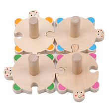 Turtle Shape Sorter - Interlocking - Cleva Poppy