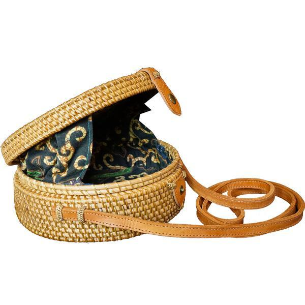 Bali bag - Flores - 20cm - Natural - Myroundbag